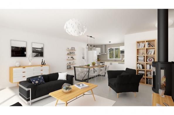 Modèle de maison Actua 105 4 chambres  : Photo 3
