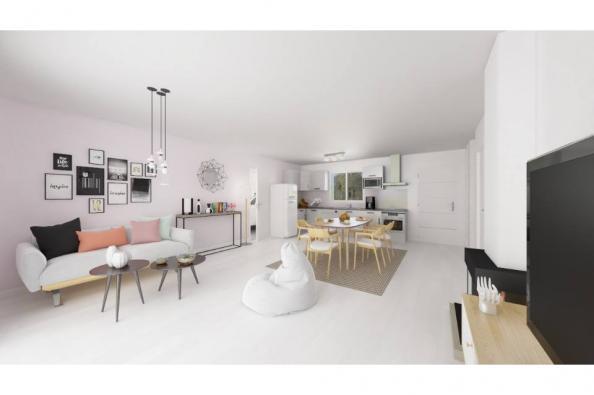Modèle de maison Actua 95 3 chambres  : Photo 3