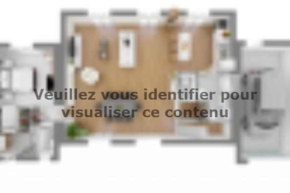 Plan de maison Bastide 95+20 4 chambres  : Photo 3