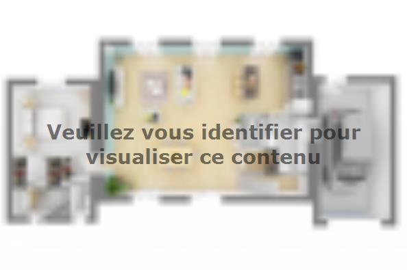 Plan de maison Bastide 110+20 4 chambres  : Photo 3