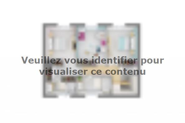 Plan de maison Bastide 110+20 4 chambres  : Photo 4