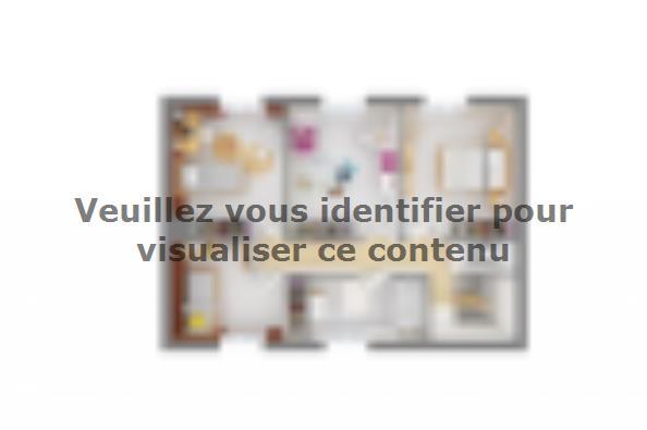 Plan de maison Bastide 125+20 5 chambres  : Photo 4