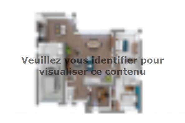 Plan de maison Bioclima 140 4 chambres  : Photo 3