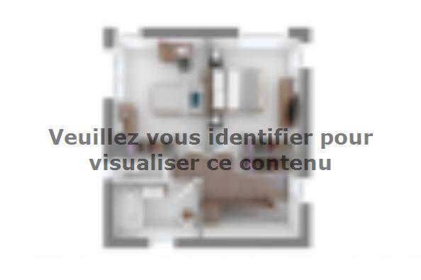 Plan de maison Bioclima 140 4 chambres  : Photo 4