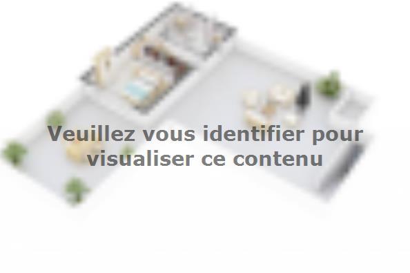 Plan de maison Bioclima 150 3 chambres  : Photo 6