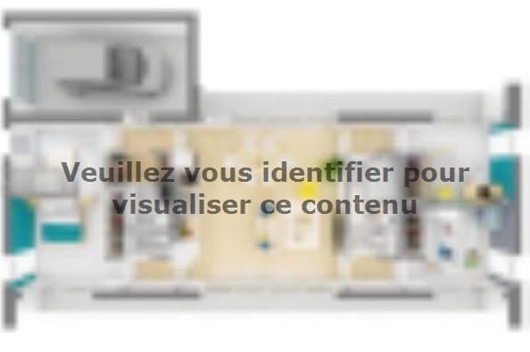 Plan de maison California 95 3 chambres  : Photo 2