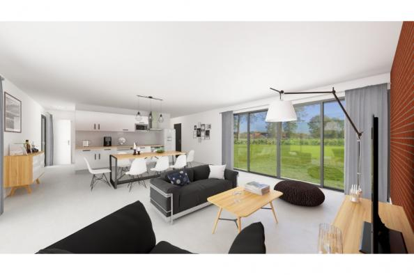 Modèle de maison California 120 4 chambres  : Photo 3