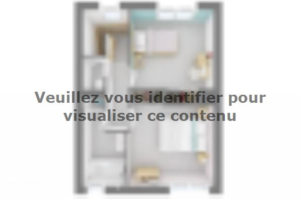 Plan de maison Familia 100 3 chambres  : Photo 4