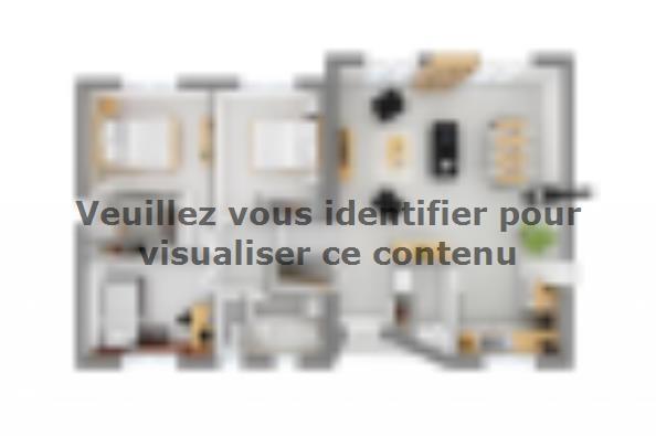 Plan de maison Harmonia 90 3 chambres  : Photo 4