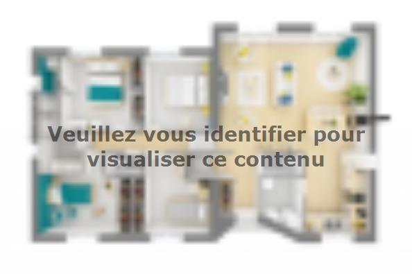 Plan de maison Harmonia 110 4 chambres  : Photo 4