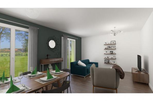 Modèle de maison Lumina 100 rez-de-jardin 3 chambres  : Photo 3