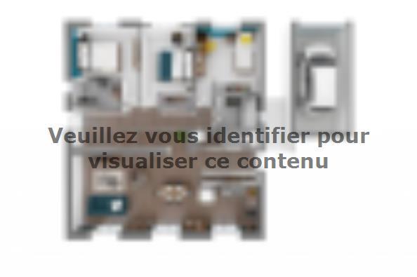 Plan de maison Lumina 100 rez-de-jardin 3 chambres  : Photo 2