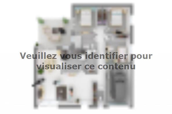 Plan de maison Natura 90 3 chambres  : Photo 2