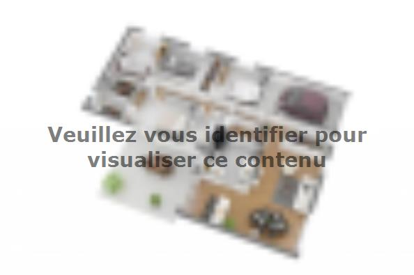 Plan de maison Natura 110 4 chambres  : Photo 3