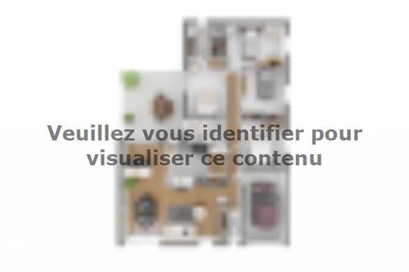 Plan de maison Natura 110 4 chambres  : Photo 2