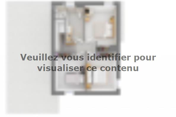 Plan de maison Ultima 116GI 4 chambres  : Photo 4