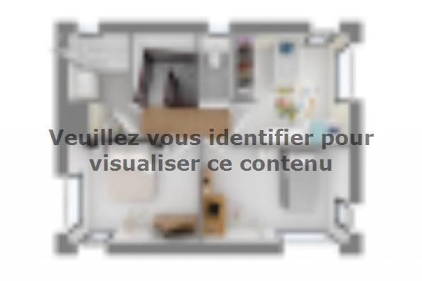 Plan de maison Ultima 110GA 4 chambres  : Photo 4