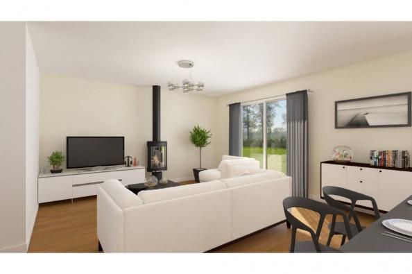 Modèle de maison Optima 95 4 chambres  : Photo 3