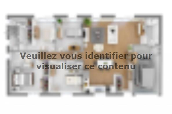 Plan de maison Optima 113 4 chambres  : Photo 2