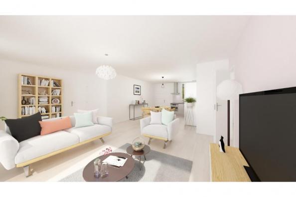Modèle de maison Optima 90 3 chambres  : Photo 3