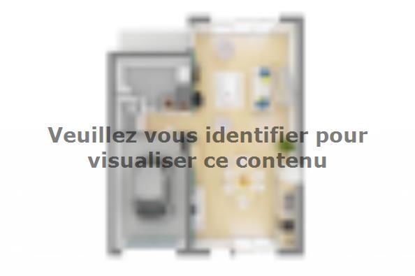Plan de maison Urba 105 3 chambres  : Photo 3
