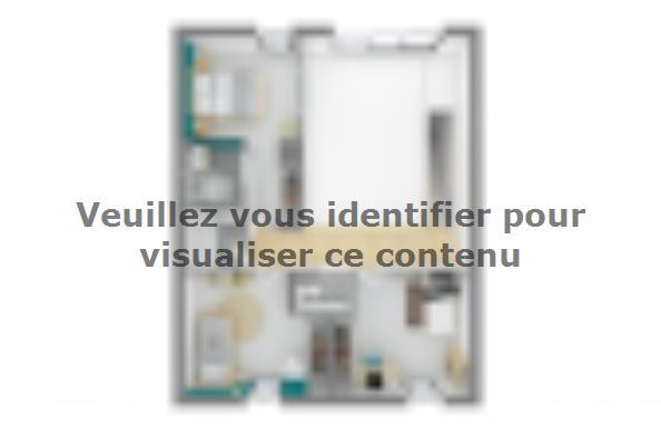 Plan de maison Urba 105 3 chambres  : Photo 4