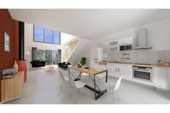 Modèle de maison Urba 122 4 chambres  : Photo 3