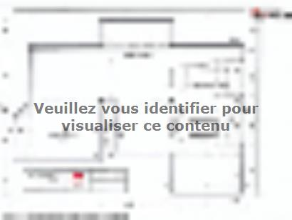 Plan de maison SM-200-ETG-R-GS 4 chambres  : Photo 1