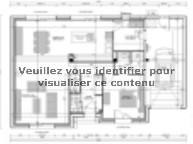 Plan de maison SM-135-ETG-R-GI : Vignette 1