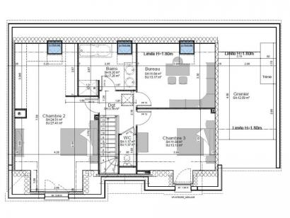 Modèle de maison SM-135-ETG-R-GI 4 chambres  : Photo 2