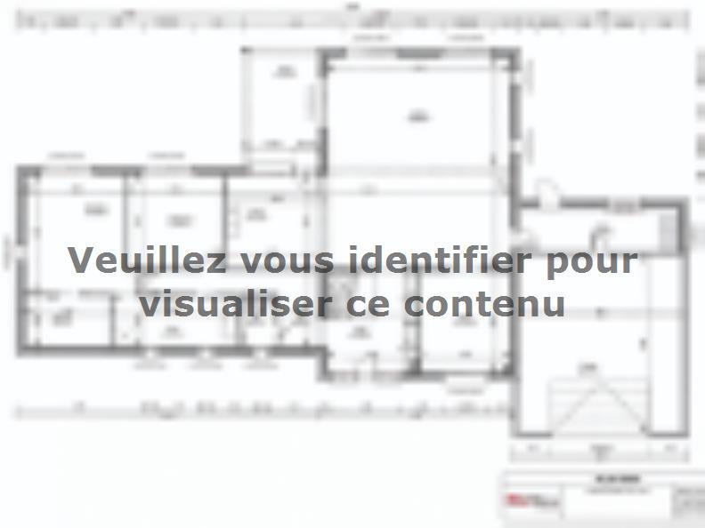 Plan de maison SM-200-ETG-R-GI : Vignette 1