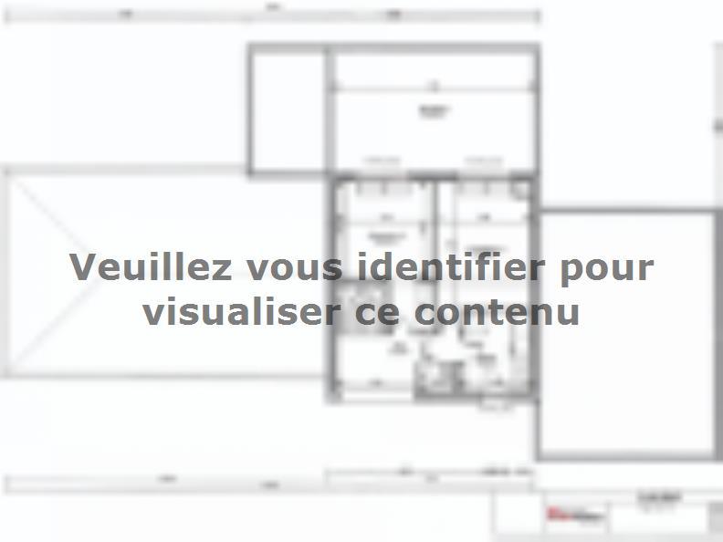 Plan de maison SM-200-ETG-R-GI : Vignette 2