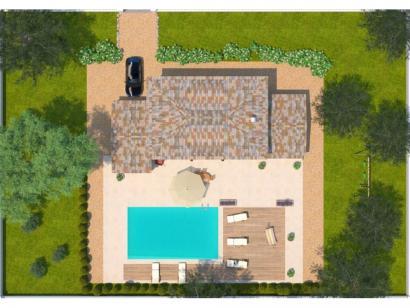 Modèle de maison Saphir 110 Tradition 3 chambres  : Photo 2