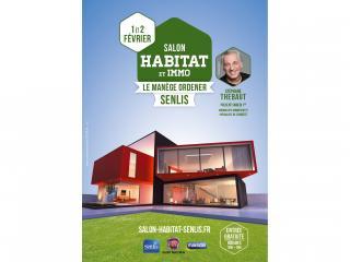 Salon de l'Habitat de SENLIS (60) les 1er et 2 février 2020