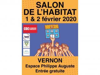 Salon de l'Habitat de VERNON (27) les 1er et 2 février 2020