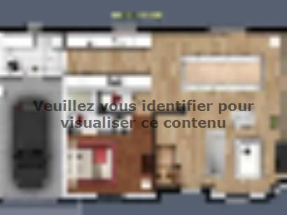 Plan de maison SL_MARS_15010_ET_64106_P15649 3 chambres  : Photo 1