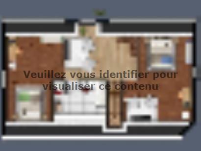 Plan de maison SL_MARS_15010_ET_64106_P15649 3 chambres  : Photo 2