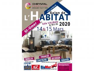Salon de l'Habitat de St Omer (62) les 14 et 15 mars 2020