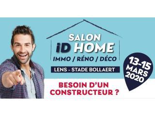 Salon ID HOME de Lens/ Lievin (62) du 13 au 15 mars 2020