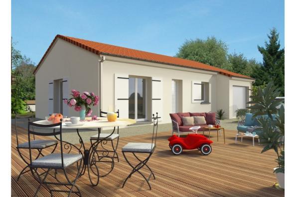 Modèle de maison PT_PP_3_75_GEF 3 chambres  : Photo 1
