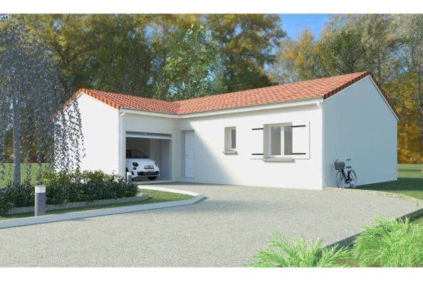 Modèle de maison PT_PP_3_85_GAENL 3 chambres  : Photo 1