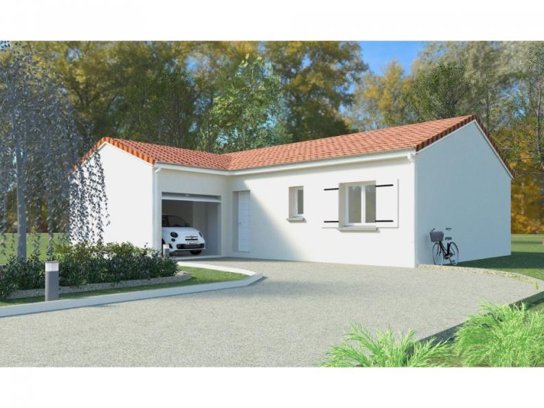 Modèle de maison PT_PP_3_85_GAENL : Vignette 1