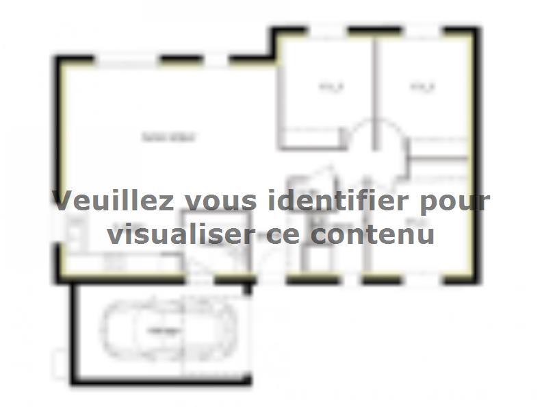 Plan de maison PT_PP_3_85_GAENL : Vignette 1