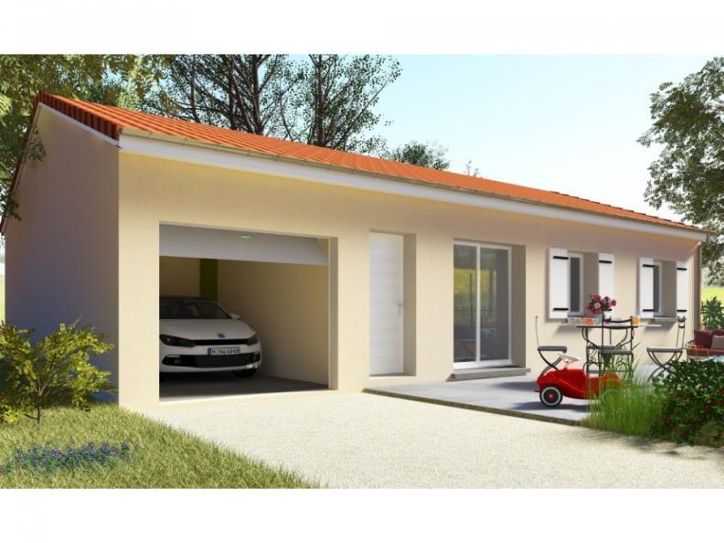 Modèle de maison PT_PP_3_85_GEF : Vignette 1
