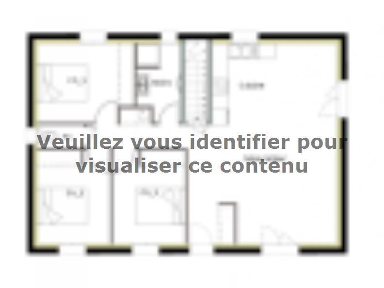 Plan de maison PT_SS_3_82_GEF : Vignette 1