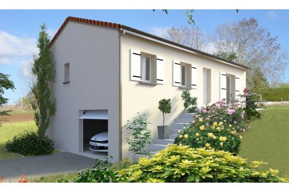 Modèle de maison PT_SS_3_82_GEF 3 chambres  : Photo 1