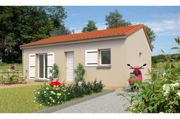 Modèle de maison PT_PP_2_65_SG 2 chambres  : Photo 1