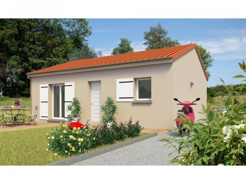 Modèle de maison PT_PP_2_65_SG : Vignette 1