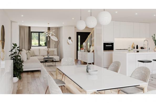 Modèle de maison Actua 140 R+1 GA 5 chambres  : Photo 2