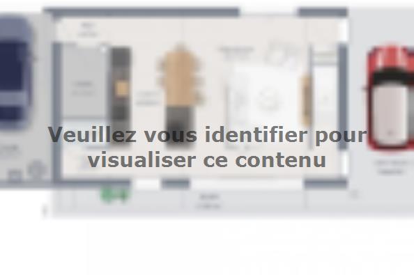 Plan de maison Concept 120 4 chambres  : Photo 1